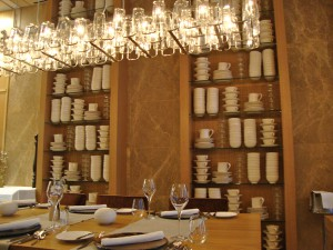 """table setting"", ""restaurant table setting"", ""Max on One"", ""Jumeirah Frankfurt"""