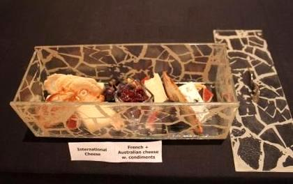 """cheese service"", ""cheese presentation"", ""cheese platter"", ""cheese plate"", ""amenity box"", ""Glass Studio"", ""Westin Abu Dhabi"""