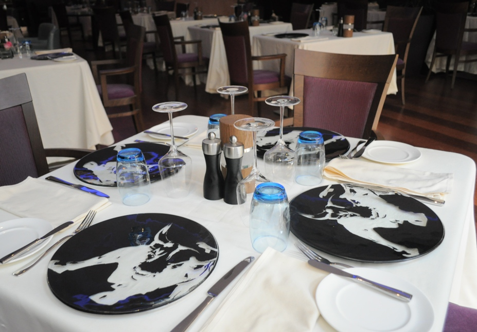 \ table setting\  \ table set up\  \ setting a table\  & Tableware designs for Marriott Riyadh