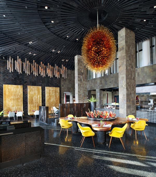 """restaurant decor"", ""Fire"", ""W Retreat & Spa Bali"""