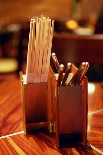 """chopstick holder"", ""chopsticks"", ""chopstick rest"", ""cutlery holder"", ""Glass Studio"", ""Fleur"", ""Mandalay Bay"""