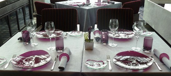 & Stylish tableware designs for Ritz Carlton Hong Kong