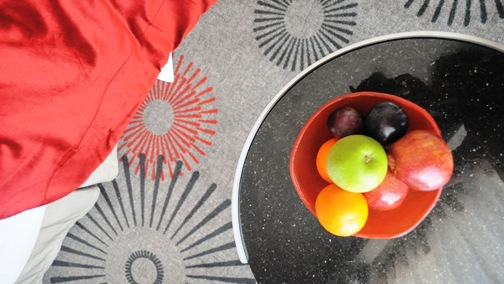 fruit amenity, fruit bowl, glass bowl, welcome amenity, room amenity, fruit dish, Tiger Glass, Crowne Plaza Doha