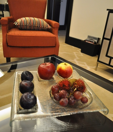 amenity platter, fruit amenity, fruit platter