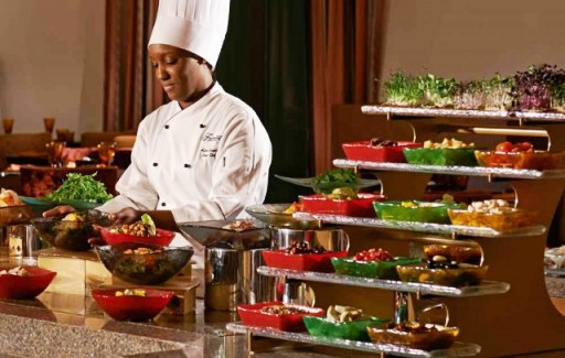 Buffet Presentation Equipment Fairmont The Palm Dubai