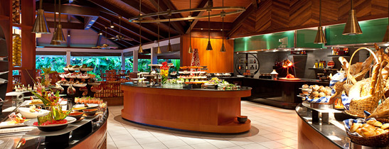 Buffet Set Up For All Day Dining Hotel Restaurant