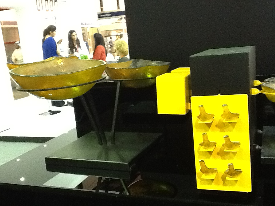 clickman, buffet bowls, serving bowls, glass bowls, appetizer dishes, appetizer spoons, canape spoons, buffet ware, Tiger Glass, Gulfood 2013