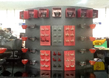clickman, buffet stand, buffet concept, buffet display, buffet setup, buffet ware, glass buffet bowls, Tiger Glass, Gulfood 2013