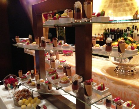 Dessert Display Centerpiece By Glass Studio For Wynn Las Vegas