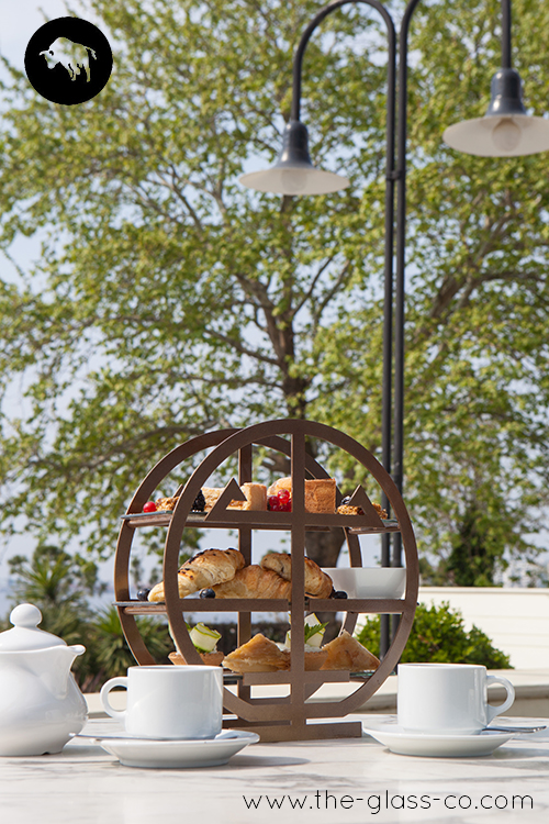 afternoon tea stand, high tea stand, tea presentation